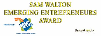 """Sam Walton Emerging Entrepreneur"" Award"