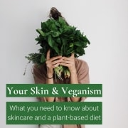 your skin and veganism