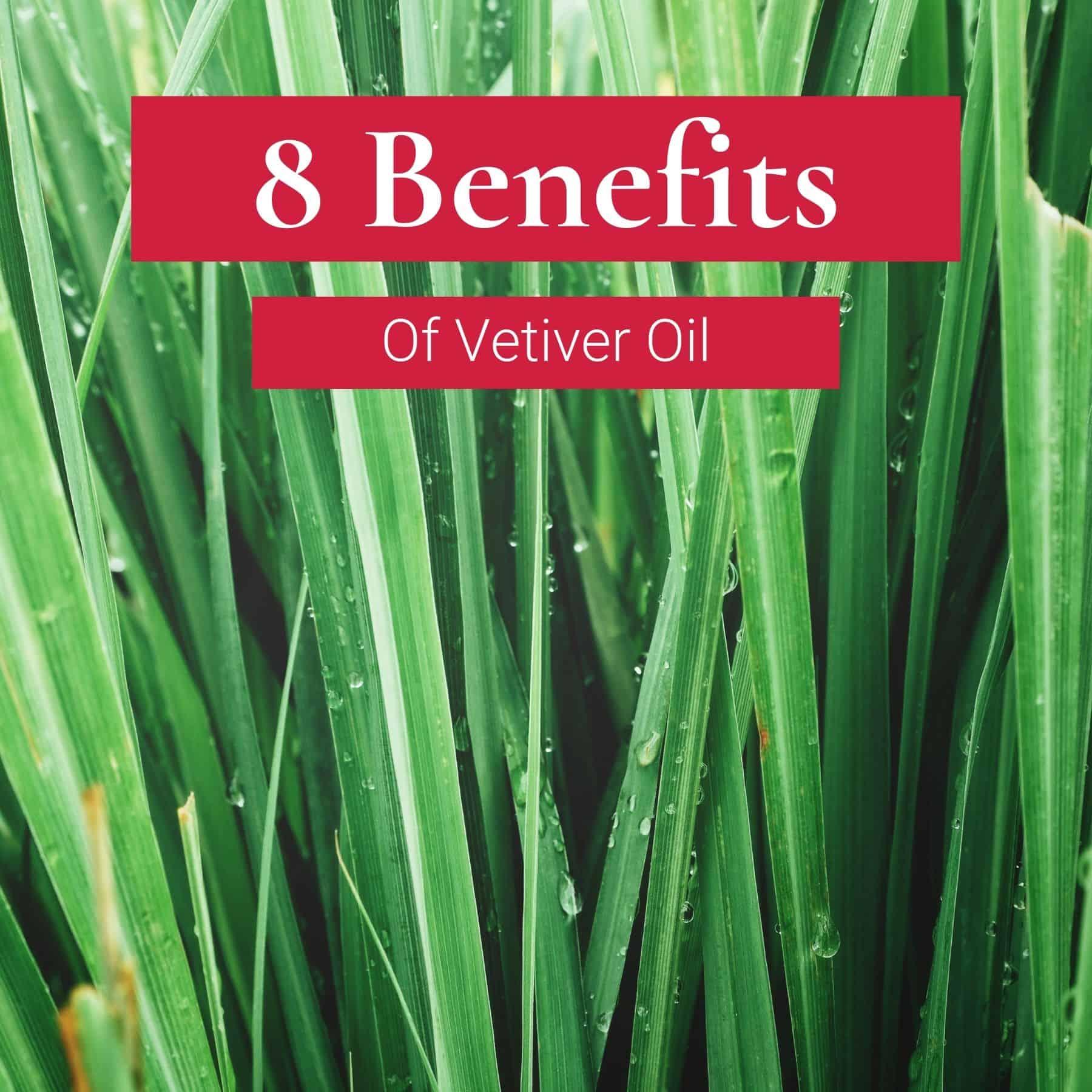 8 benefits vetiver oil