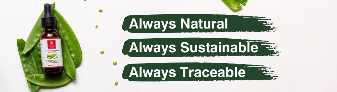 always natural always sustainable always traceable